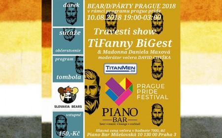 Bear/d/PÁRTY PRAGUE 2018