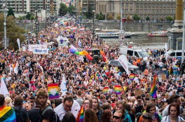 Rainbow Prague Pride Parade: With lots of floats and diplomatic support